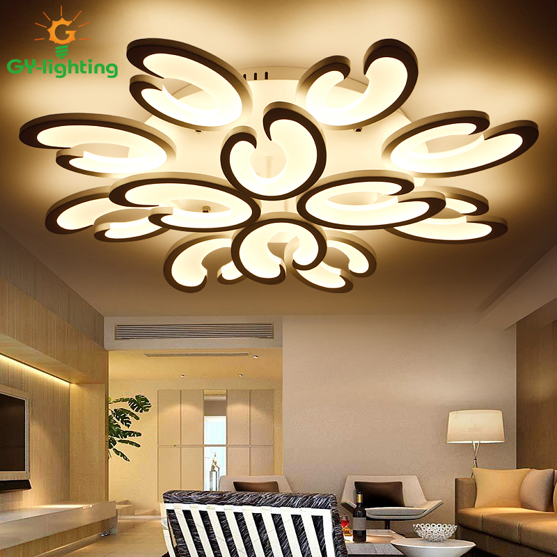 Lights & Lighting New Creative Minimalism Art Led Ceiling Lights Living Room Ceiling Lamp Bedroom Lighting Lampara Techo Plafonnier Lamp Ceiling