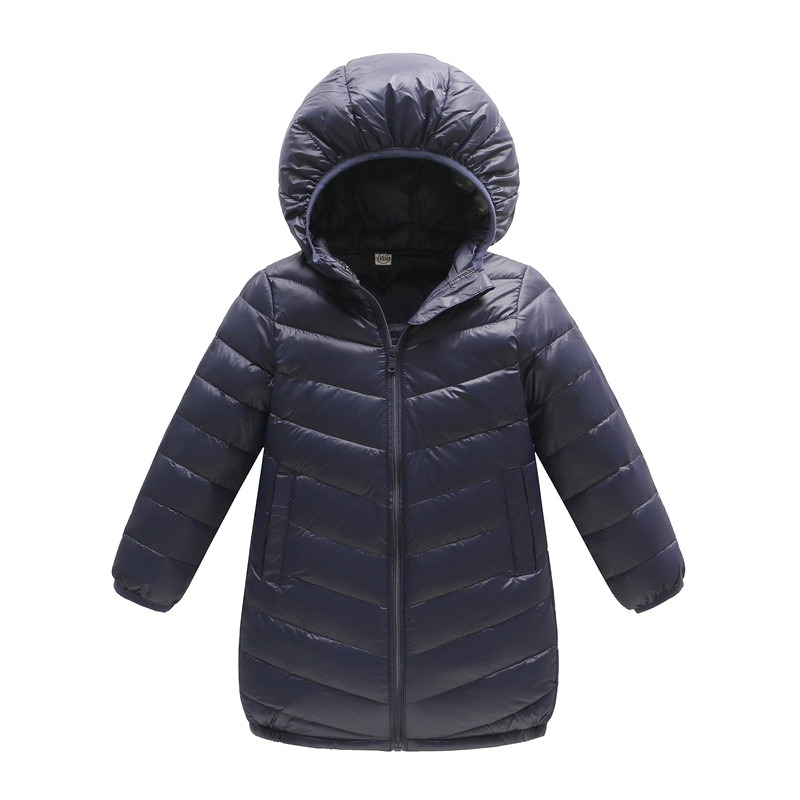 Winter Thin The Long Section Of The Solid Color Of Children Boys And Girls Children's Clothing Down Jacket physical and sensing properties of zinc oxide thin films