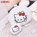 KEENICI Mini Hello Cate Cute Female Coin Purse Friendly Silicone Wallets Lovely Women Key Bag Kids Gift Bolsa Feminina 2pcs