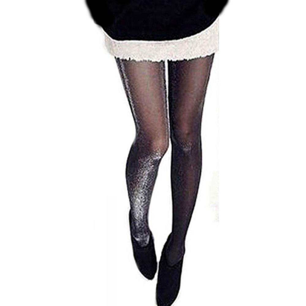 1PC Sexy Women Charming Shiny Pantyhose Glitter Soft Breathable Stockings Women Glossy Tights Stockings