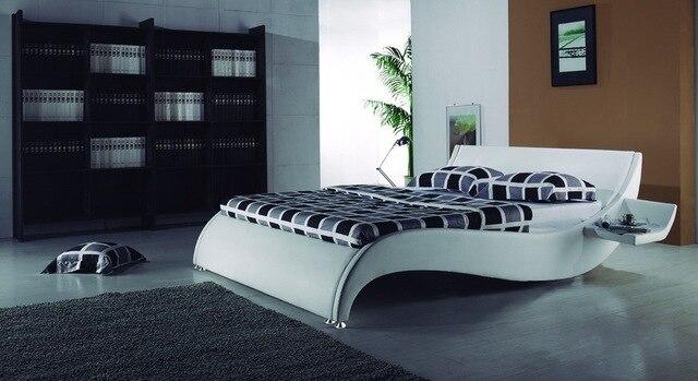 La ola marco de la cama envío gratis en Camas de Muebles en ...