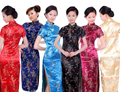 Hot Sale Chinese Tradition Style Women's Dragon&Phoenix Cheong-sam Qipao Dress S M L XL XXL 3XL 4XL 5XL 6XL----LDR0015