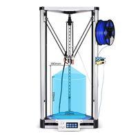 BIQU коссель Плюс/Pro DIY 3D принтер Высокая точность автоматическое выравнивание коссель Reprap delta принтер машина алюминий HeatBed