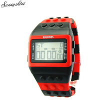 Girls males Vogue Watches Colourful Digital Waterproof Unisex Clock Wrist Watch Wholesale