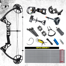 Ship From USA Warehouse Compound Bow Package M1, 19-30 inch Draw Length,19-70Lbs Draw Weight,320fps IBO LIMBS MADE IN USA topoint archery compound bow package t1 cnc milling bow riser 19 30in draw length 19 70lbs draw weight 320fps ibo