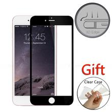 For iPhone 7 Plus 9H 3D edge Full Cover screen protector Film tempered glass Cover For