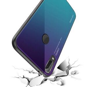 Image 5 - Gradiente di Vetro Temperato Cassa Del Telefono Per Huawei P30 P20 P10 P40 Compagno di 20 Pro lite Copertura Posteriore Custodia protettiva Borsette per P40lite