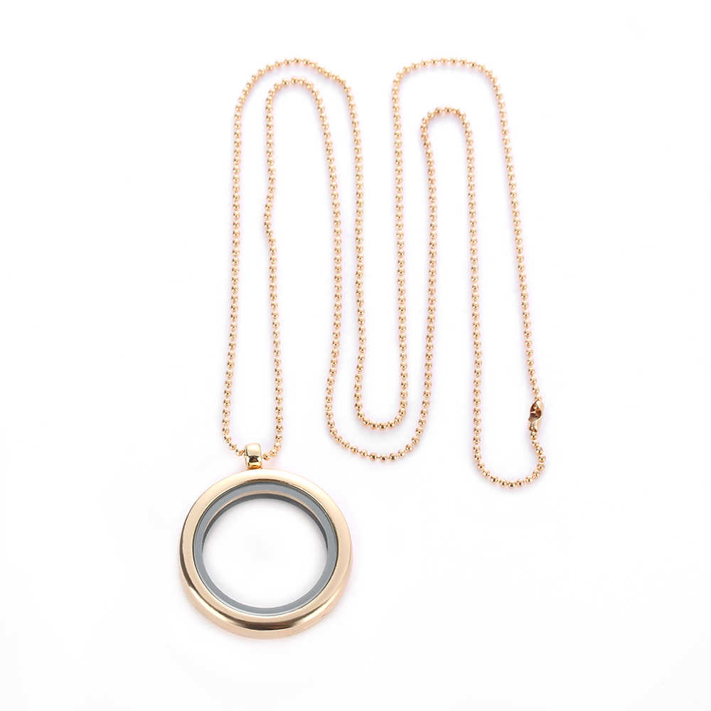 1 sztuk gorąca sprzedaż pływające żywe wspomnienie wisiorek medalion naszyjniki Charms kryształ Rhinestone naszyjnik DIY biżuteria Drop Shipping