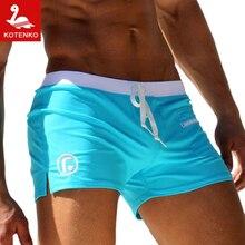 Kotenko Brand Men Man Swimwear Swimming Boxer font b Shorts b font Trunks Swimsuits Men s
