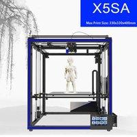 Высокая точность 3d принтеры большой печати Размеры 330*330*400 мм с автоматической выравнивания функция X5SA ЕС Plug корабль от DE