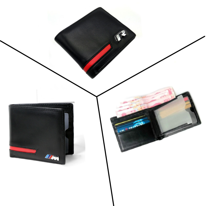 Car-styling Driver License Holder Credit Card Holder Wallet For BMW E46 E36 E90 E39 F22 F30 VW Passat B5 B6 Golf GTI CC Touareg
