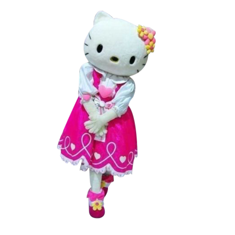 High quality mascot costume fancy costume cosplay hello kitty carnival costume