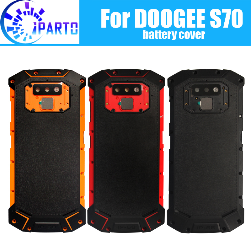 DOOGEE S70 Battery Cover Replacement 100% Original New Durable Back Case Mobile Phone Accessory for DOOGEE S70