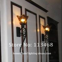 Vintage antique black wall lamp classic large wall sconce industrial wall lamp bedroom corridor dinning room lighting decoration