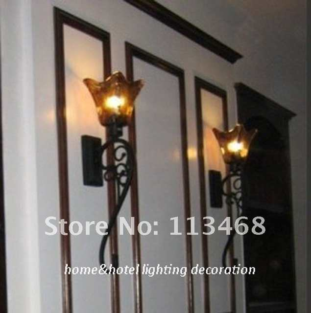 Vintage Antique Black Wall Lamp Clic