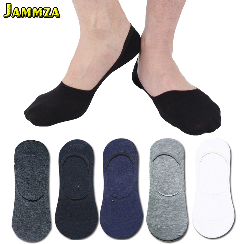 5Pairs/Lot New Summer   Socks   Men Cotton Business Invisible   Socks   Casual high quality Breathable Solid No Show Black Sporty Meias
