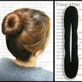 2pcs/lot Magic Foam Sponge Women's Hairdisk Hair Device Donut Quick Messy Bun Updo Headwear MR0032