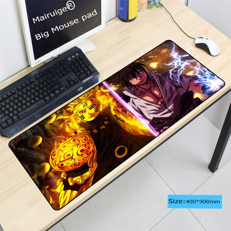 Mairuige Naruto Anime Pad To Mouse Notbook Computer Large Lo