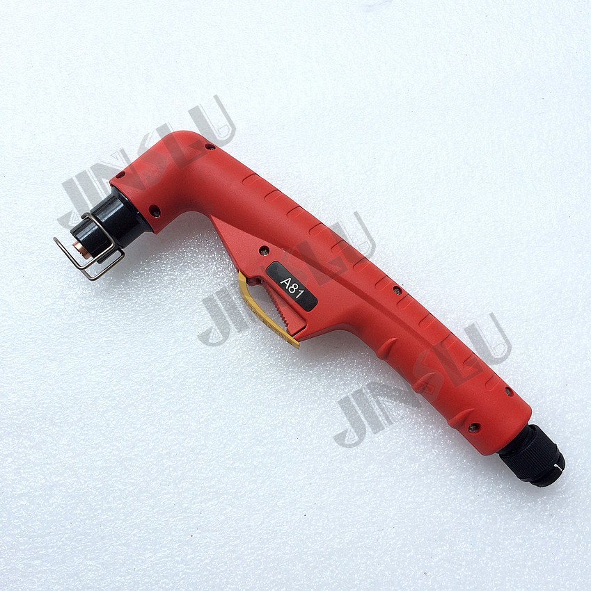 Free shipping A81 plasma cutting consumable PF0140 Torch Head a81 air plasma torch with centeral connector 8m