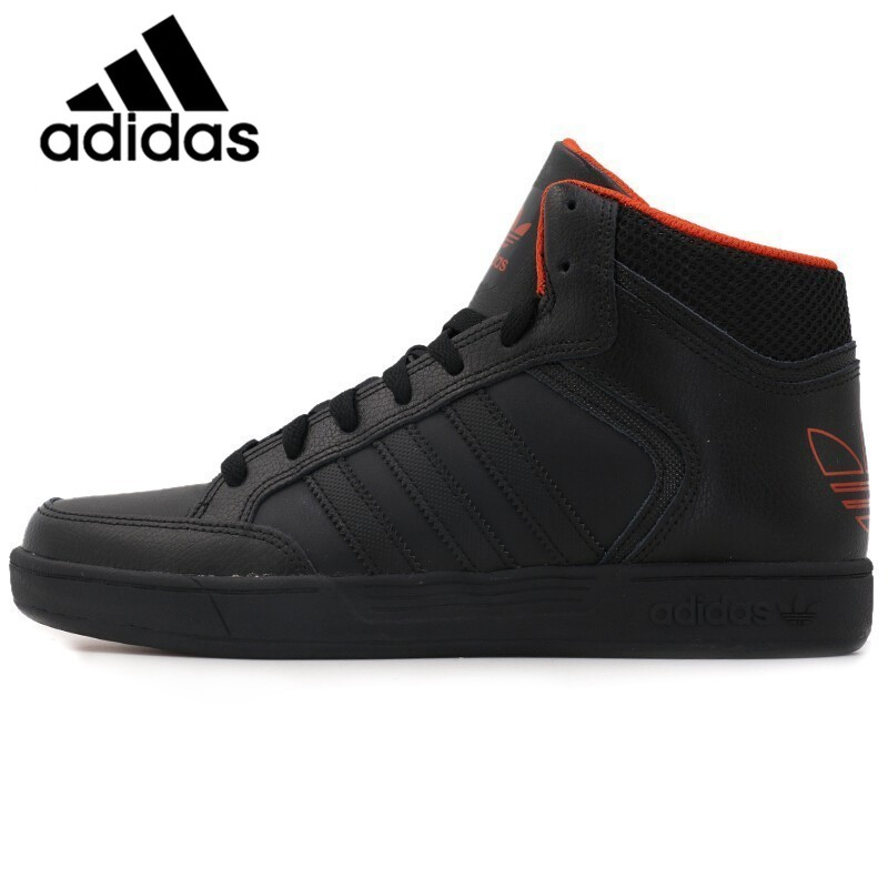 Official Original Adidas Originals Thread VARIAL MID Men's Skateboarding Shoes Sneakers High Top Lace-up Encapsulated  Leisure