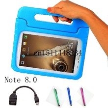 For Samsung Galaxy Note 8 0 N5100 N5110 EVA environmental health silicone Tablet case Children s