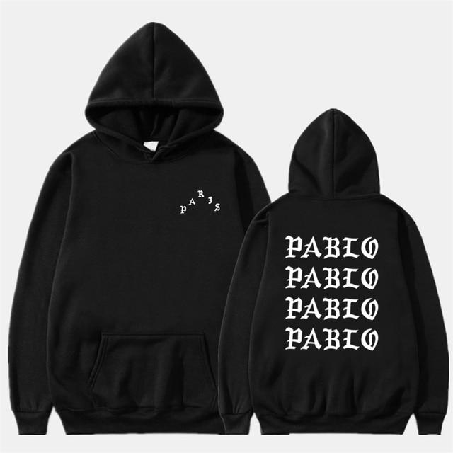 Fashion Professional Dropshipping Hip Hop Hoodies Men I Feel Like Pablo Streetwear Hoodie Sweatshirts Men Women Rapper Pullover
