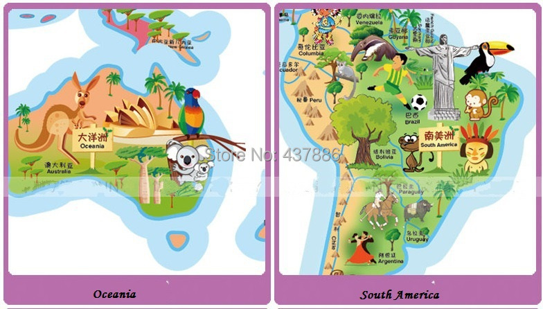 Rice cartoon world map of the world large children real cartoon getsubject aeproduct gumiabroncs Image collections