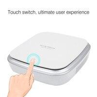 Smart Touch Air Purifier Car Ionizer Anion Car Air Purifier Smoke Dust Remover Portable USB Air Cleaner For Car Home Use