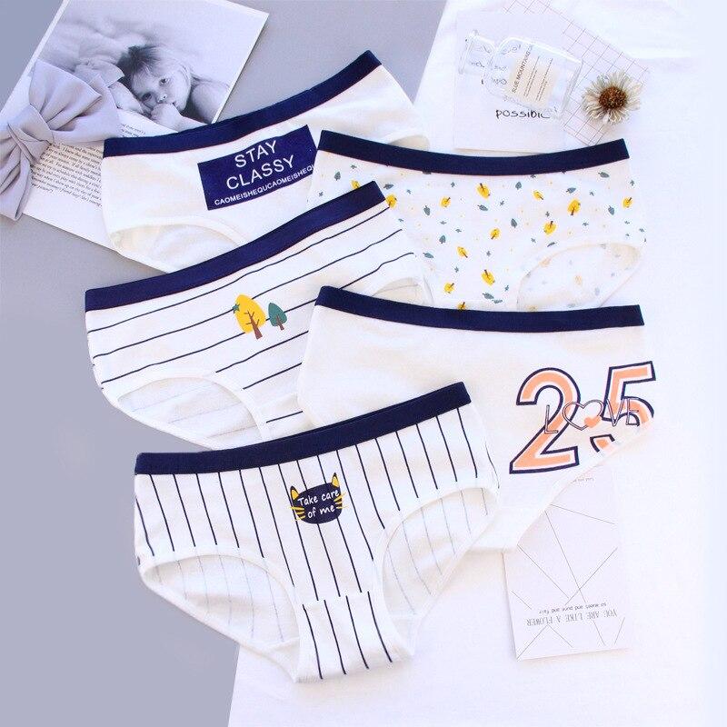 2018 New Underwear Women Sexy   Panties   Cotton Briefs Girls Lingeries Cueca Calcinhas Ropa Interior Femenina Shorts Underpants