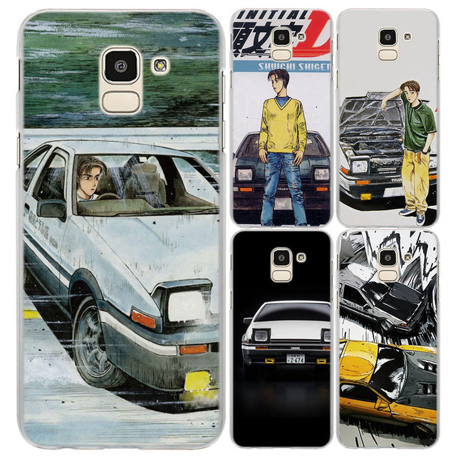 info for 4be69 0edf7 US $1.97 34% OFF|initial d takumi 86 pattern Clear hard phone Case Cover  for Samsung J4 J6 J8 2018 J3 J510 J710 J1 2016 J7 Prime-in Half-wrapped  Case ...