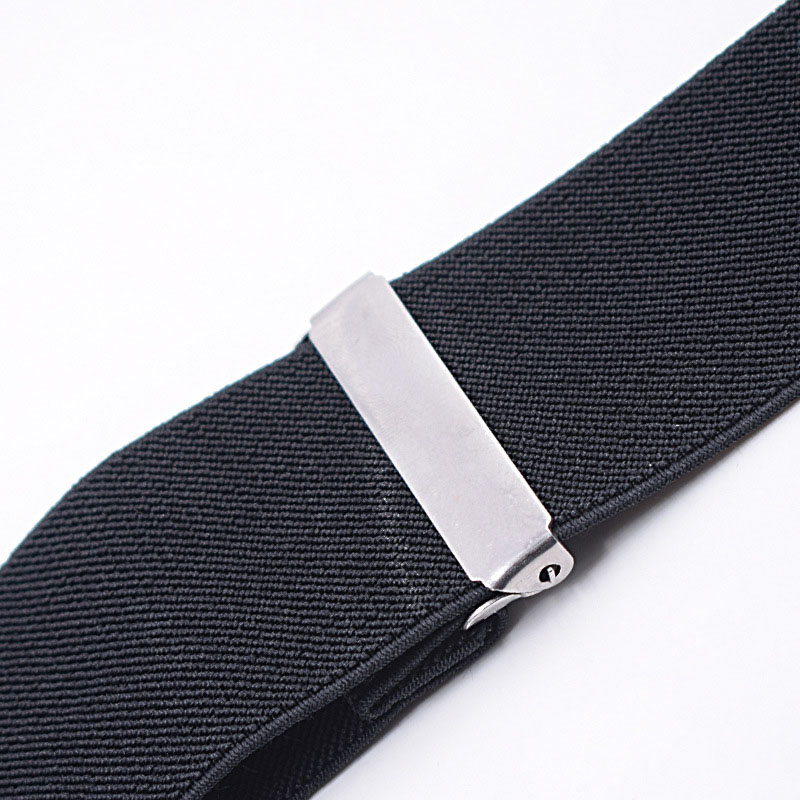 50mm Wide Elastic Adjustable Men Trouser Braces Suspenders X Shape With Strong Metal Clips FDC99