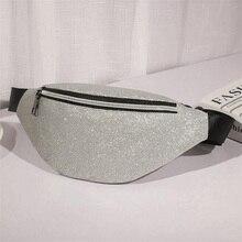купить QIUYIN Belt Bag Bum Bag 2019 New Holographic Fanny Pack Feminina Waist Pack Women's Laser Chest Waist Bag Women по цене 415.54 рублей