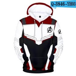 Avengers Endgame Quantum Realm 3D Hoodies Men Marvel Fans Hip Hop Sweatshirt Pullover Pocket Streetwear Outerwear Drop Shipping 1
