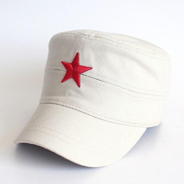 Fasbys 3D Bordado Estrella Roja Hueso Gorra Militar Del Ejército ...