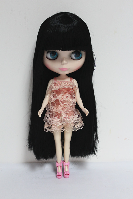 Free Shipping big discount RBL-25DIY Nude Blyth doll birthday gift for girl 4 colour big eyes dolls with beautiful Hair cute toy free shipping big discount rbl 486j diy nude blyth doll birthday gift for girl 4color big eye doll with beautiful hair cute toy