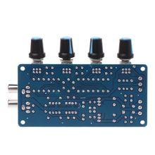 2019 Mới Cho Dual AC 12V 18V NE5532 Tiền Khuếch Đại Âm Lượng Âm Treble Trung Âm Bass Điều Khiển Ban DIY bộ Dụng Cụ