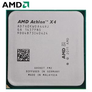 AMD Athlon II X4 760K Socket FM2 100W 3.8GHz 904-pin Quad-Core CPU Desktop Processor X4 760k Socket fm2