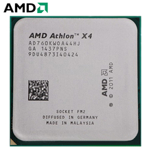 AMD Athlon II X4 760 K разъем FM2 100 W 3,8 GHz 904-pin четырехъядерный процессор cpu настольный процессор X4 760 k разъем fm2