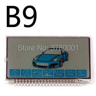 Wholesale B9 LCD Display For Russian Version Two way Car Alarm System Starline B9 lcd Remote Controller Keychain Key Fob
