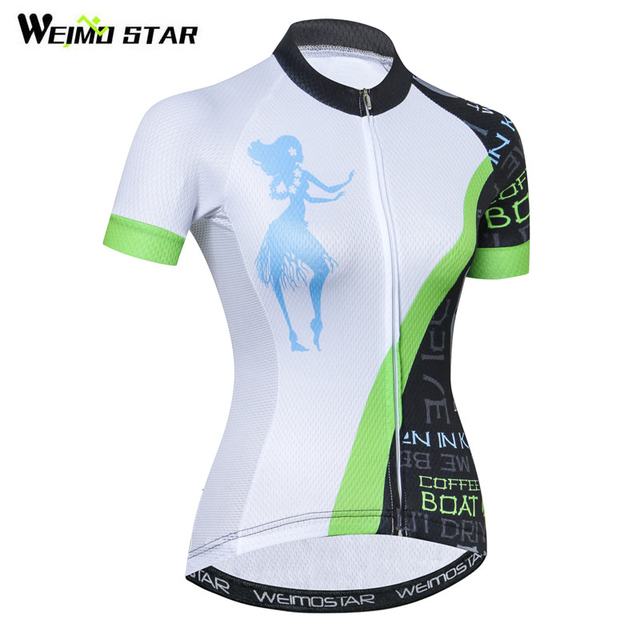 Weimostar Bike Team Women Racing Cycling Jersey Shirt Summer MTB Bicycle  Cycling Clothing Ropa Ciclismo Quick Dry Bike Jersey 945b5ad47
