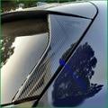 Auto Styling Für Subaru XV 2018 2019 Auto ABS Chrom ABS Carbon Faser Druck Seite Hinten Fenster Spoiler Dreieck Abdeckung trim Auto Teil-in Chrom-Styling aus Kraftfahrzeuge und Motorräder bei