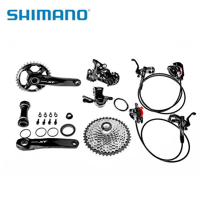 SHIMANO Deore XTM8000 vélo groupe complet conventionnel 1*11 vitesse dérailleur avant M8000 GS dérailleur arrière vtt pièces de vélo