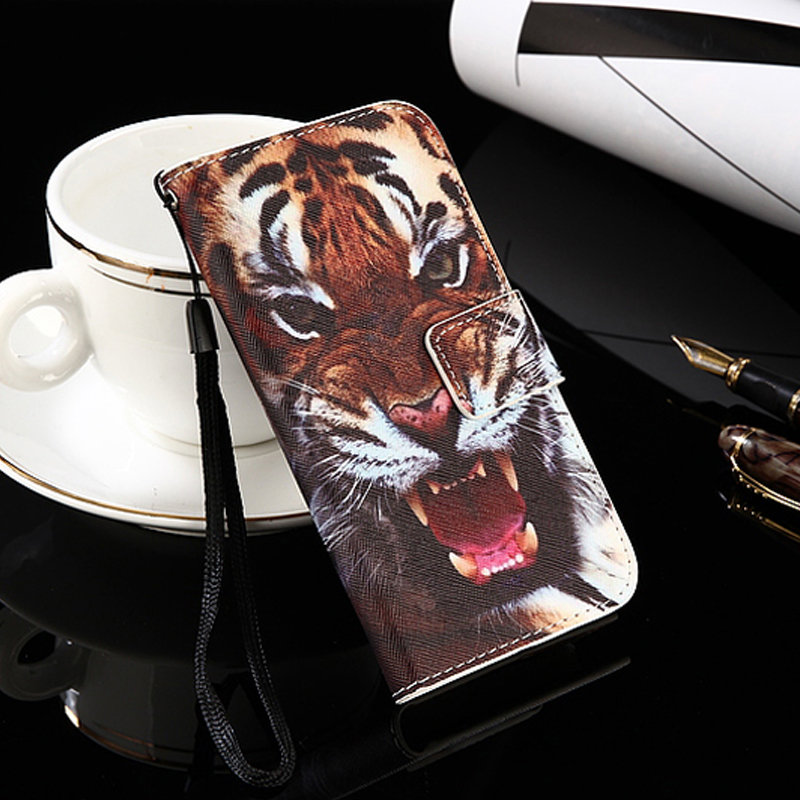 Wieppo E1 S8 Case for <font><b>teXet</b></font> <font><b>TM</b></font>-<font><b>5083</b></font> Pay 5 3G Flip back phone case cartoon pu leather case VKworld SD200 SD100 Cover XOLO Era 4X image