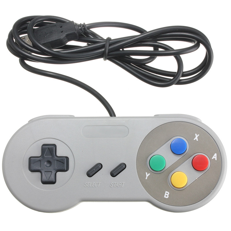 High Quality Best Retro Super Classic USB Controller Gamepad For Nintendo For SNES for Windows PC for MAC Controllers