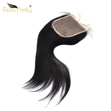 5x5 lace Closure Straight Brazilian Natural black Human Hair Closure Light Brown Transparent Lace Remy Ross Pretty Product стоимость