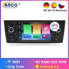 Android 8,0 4G Оперативная Память автомобиля стереонаушники DVD для Fiat Grande Punto Linea 2007 2008 2009 2010 2011 2012 автоматическое радио GPS навигации