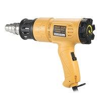 1800W Industrial Fast Heating Hot Air Gun Adjustable Temperature Heat Gun Shrink Blower Hot Gun Soldering tool 4 Nozzle AC220V