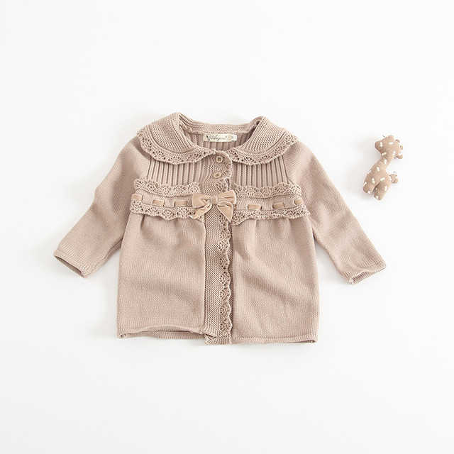 668187448521 Ins Hot Sell Toddler Baby Girls Knitted Sweater Cardigans Candy ...