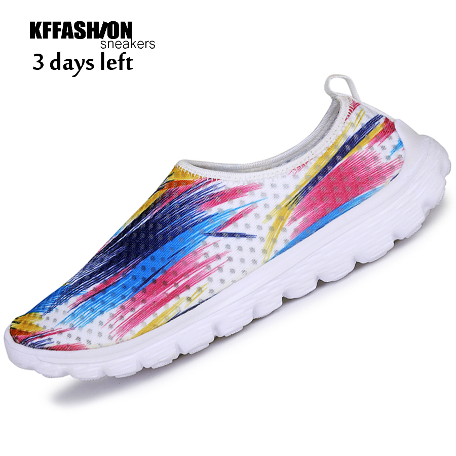 woman sneakers,use 3d print breathable athletic sport ...