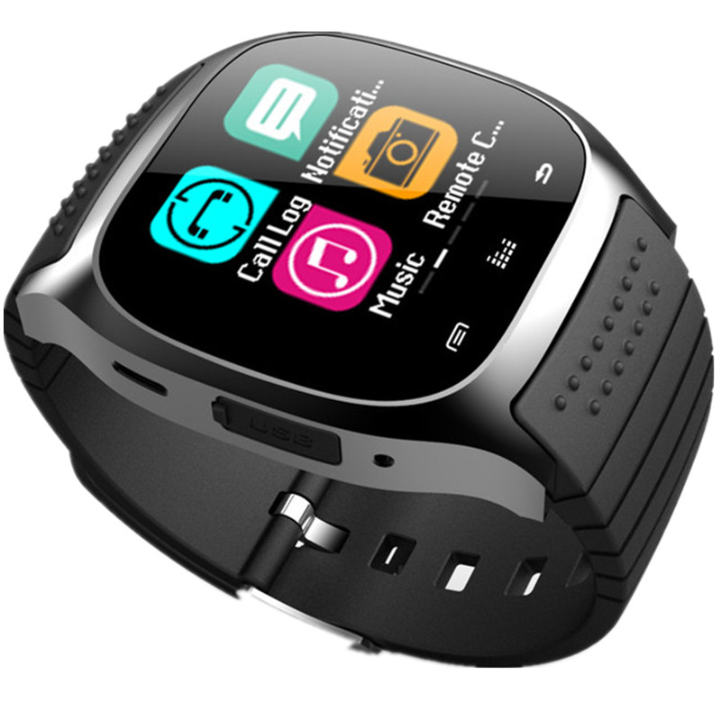 Original M26 Bluetooth Smart Watch For IOS Apple IPhone6 5 And Android SMS Remind Sport Fitness
